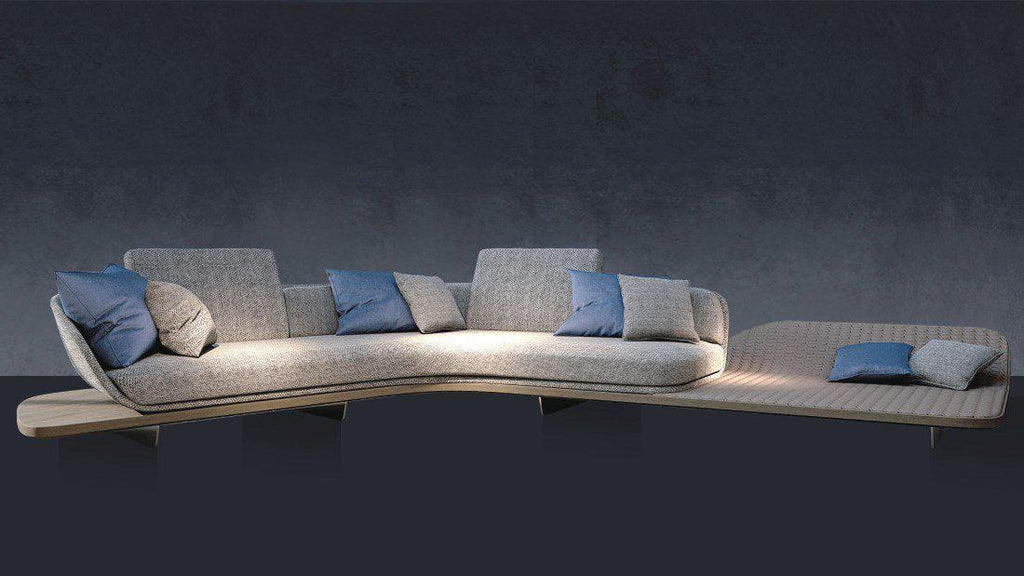 Segno Sofa Chaise Longue B - italydesign.com