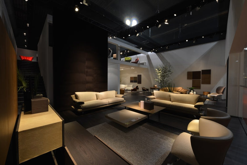 Italian designed room with luxury sofa made in Italy
