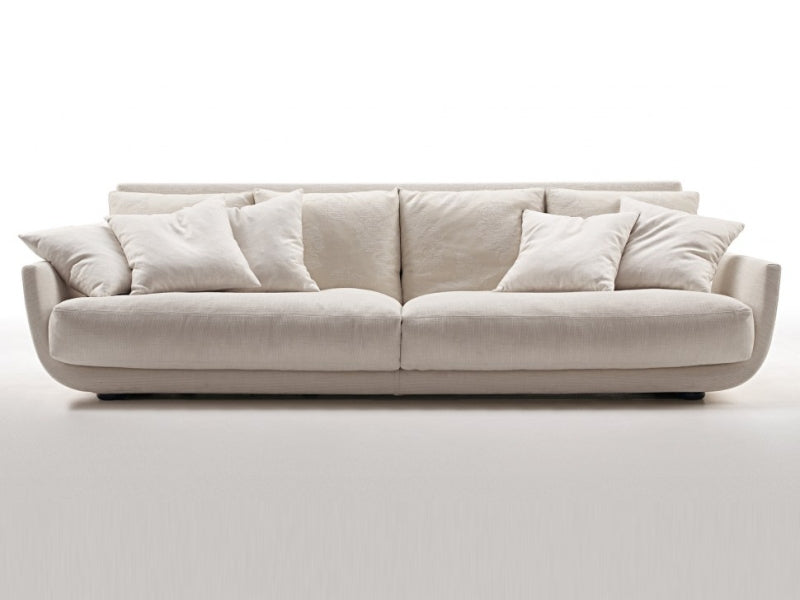 Tuliss Sofa - large white fluffy sofa