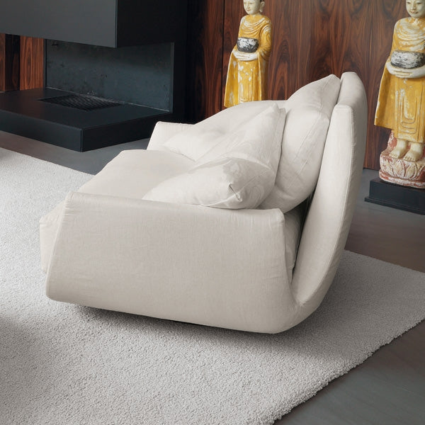 Tuliss Sofa - white sofa made in Italy by Desiree