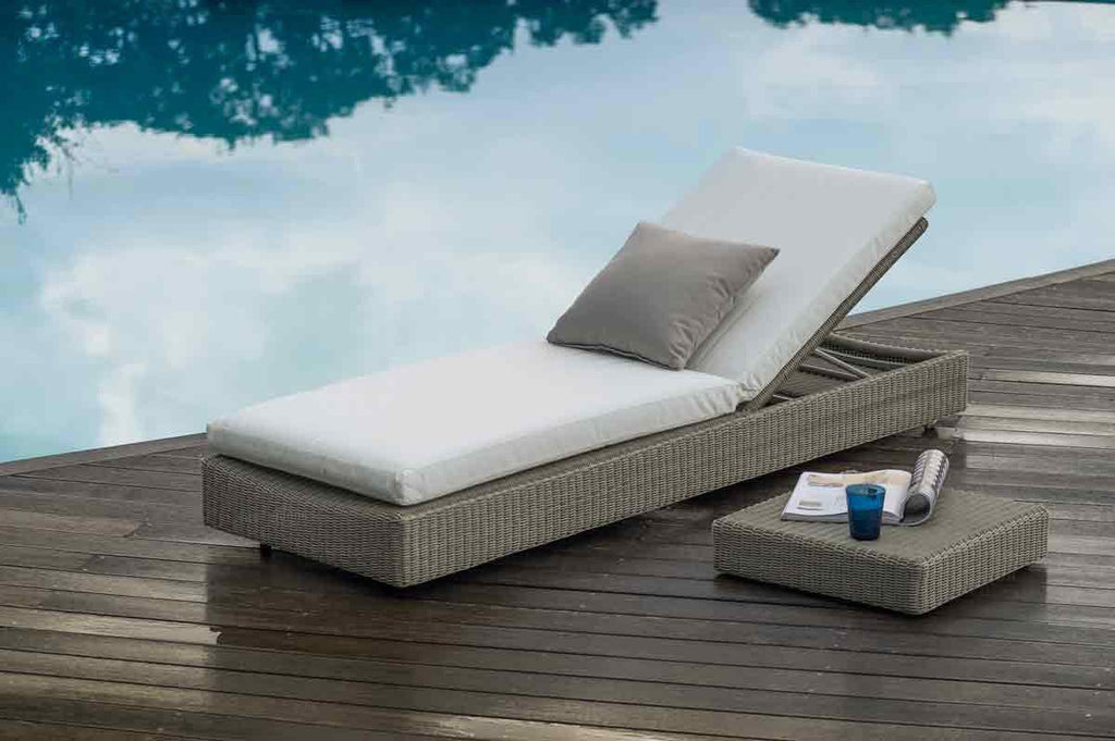 Sunstripe Sun Lounger - italydesign.com
