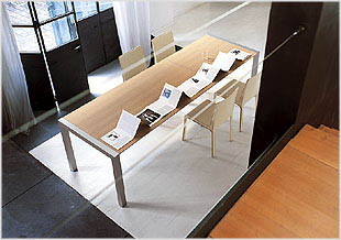 Sushi Dining Table - Modern Expandable table  by  Kristalia