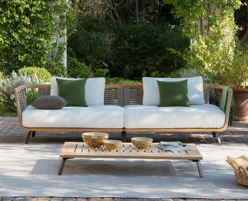 Unopiu outdoor sofa made in italy