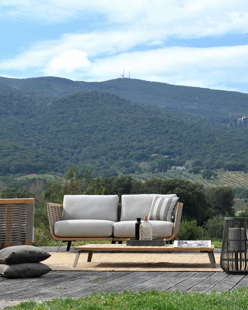Outdoor sofa made by Unopiu in Italy