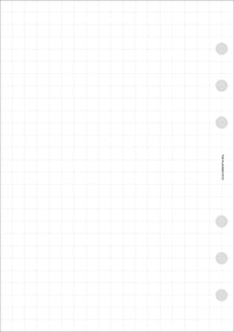 Planner Inserts - Personal Wide Size Grid Notes