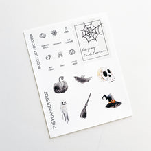 "Load image into Gallery viewer, Monthly Kit Planner Stickers - ""Mystical"" October"