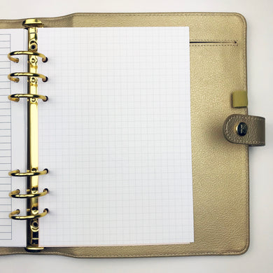 Planner Inserts - A5 Size Grid Notes