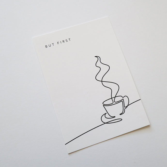 Planner Card - Coffee