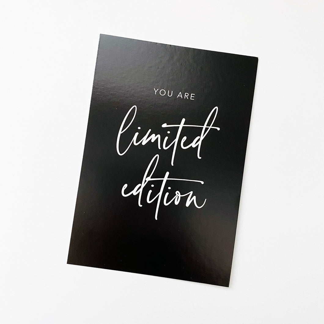 Planner Card - Limited Edition