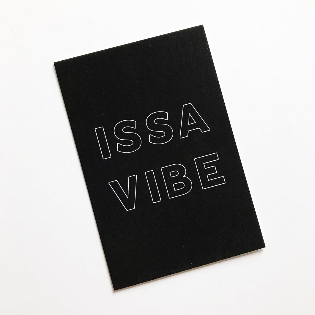 Planner Card - Issa Vibe
