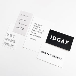 Planner Cards - Attitude