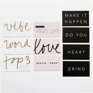 Planner Cards - Motivation