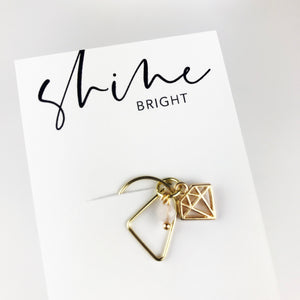 Planner Dangle Clip - Shine