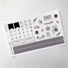 Load image into Gallery viewer, Planner Sticker Kit - Cozy November