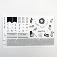 Load image into Gallery viewer, Planner Sticker Kit - Merry & Bright December