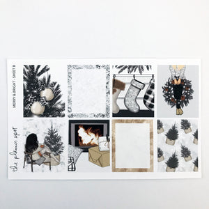 Planner Sticker Kit - Merry & Bright December