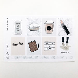 Planner Sticker Kit - New New January