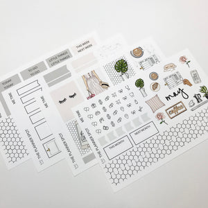 Planner Sticker Kit - Me Time May