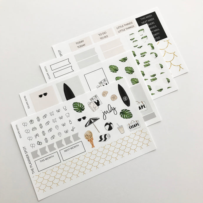 Planner Sticker Kit -