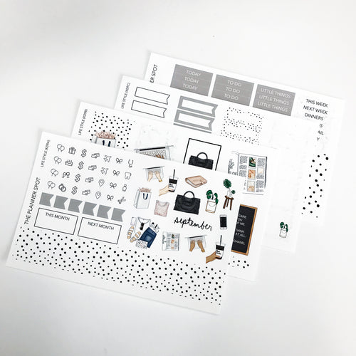 Monthly Sticker Kit - September