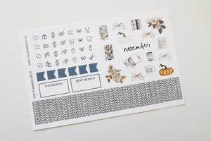 "Sticker Kit - ""Sweet November"""
