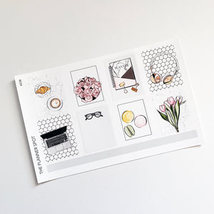 March Sticker Kit - Spring
