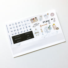 "Load image into Gallery viewer, Monthly Kit Planner Stickers - May ""Treat Yo Self"""