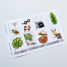 "Load image into Gallery viewer, Monthly Kit Planner Stickers - July ""Hot Couture"""