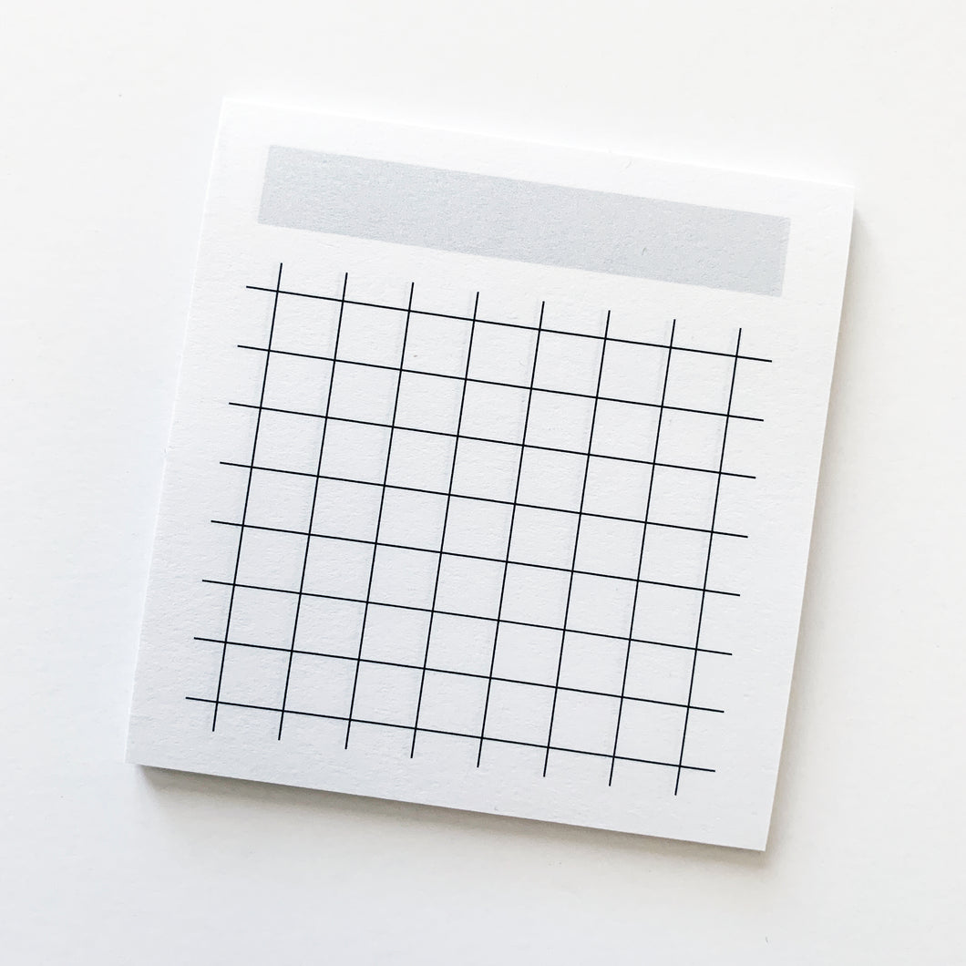 OOPS Sticky Notes - Month / Grid