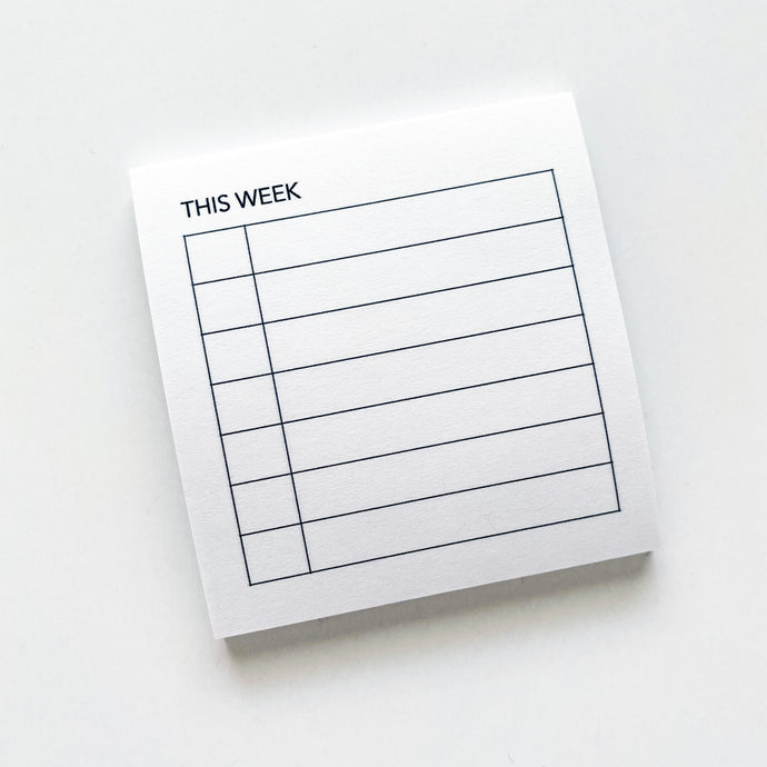 Sticky Notes - Weekly