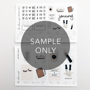 Monthly Subscription - FULL STICKER KIT