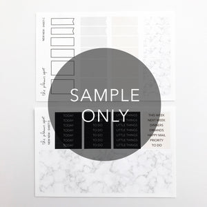 Monthly Subscription - FULL STICKER KIT + STATIONERY COMBO