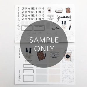 Monthly Subscription - MINI STICKER KIT