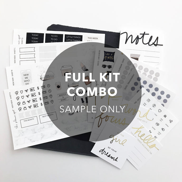 Monthly Subscription - FULL KIT COMBO