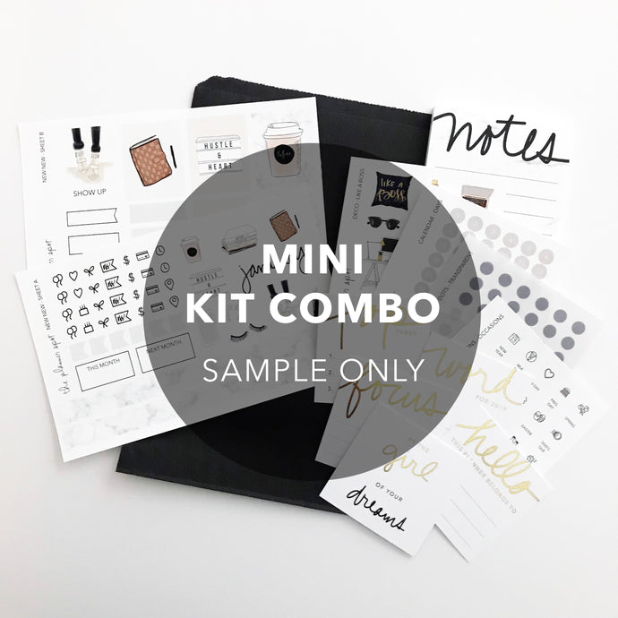 Monthly Subscription - MINI KIT COMBO