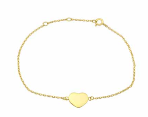 Friendship Heart Bracelet