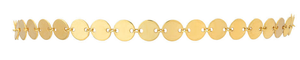 Gold Disco Choker