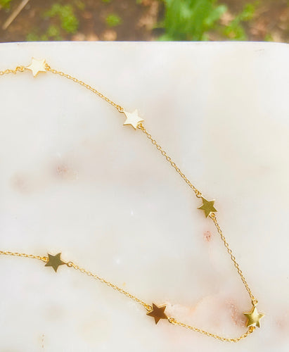 Rockstar Gold Plated Choker