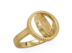 Double Trouble Coin RIng