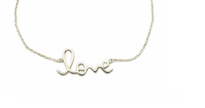 925 Sterling Silver Love Me Necklace - 925 Sterling Silver