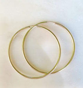 Endless Fab Hoop Earrings