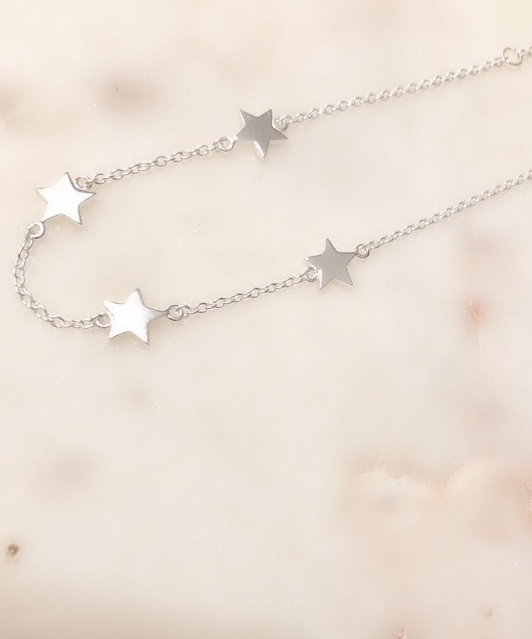 Sterling Silver Rock Star Gold Plated Bracelet
