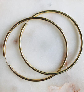 Endless Fab Big Hoop Earrings