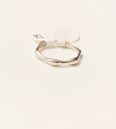Sterling Silver Smooth Bamboo Ring Band