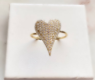 I Love Me Heart Ring
