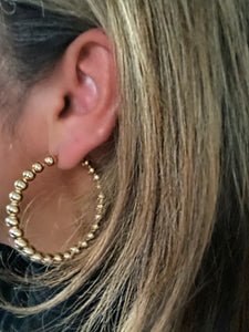 The Goddess Hoop Earrings