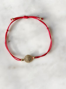 Peace Protection Medallion Bracelet