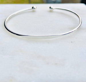 Sterling Silver Engraveable Bangle