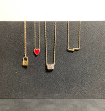 Load image into Gallery viewer, 925 Sterling Silver Gold Plated Bolt Necklace