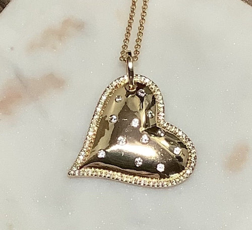 Stacey Heart Necklace